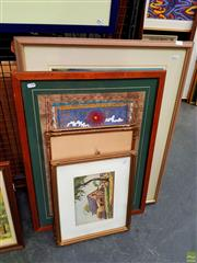 Sale 8636 - Lot 2085A - Group of 5 Assorted Artworks