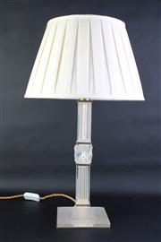 Sale 8827 - Lot 14 - A Lalique Josephine Table Lamp With Shade