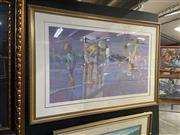 Sale 8978 - Lot 2064 - Don Hatfield Brothers serigraph on paper ed.52/300, 90 x 133cm (frame) signed