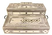 Sale 7974 - Lot 67 - Bone 19th Century Anglo Indian Writing Slope