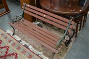 Sale 8138 - Lot 934 - Outdoor Bench