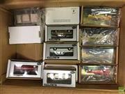 Sale 8559A - Lot 66 - Box of Trax Model Cars, boxed