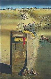 Sale 8907 - Lot 569 - Salvador Dali (1904 -1989) - España 68 x 43 cm