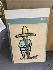 Sale 9004 - Lot 2053 - Group of original Illustrations by A.R. Ward El Mexicano , unframed