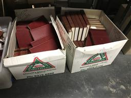 Sale 9101 - Lot 2316 - 2 Boxes of Books incl. Time Bouse Australias Great Books