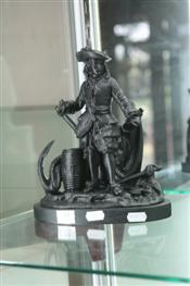 Sale 7874 - Lot 39 - Spelter Figure of a Man
