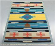 Sale 8438K - Lot 78 - Jaipur Veggie Dye Kilim Rug | 300x200cm, Pure Wool, Handwoven in Rajasthan, India with a pure NZ wool composition. Fully reversible ...