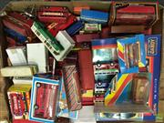 Sale 8559A - Lot 68 - Box of Model Buses, some boxed