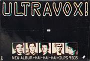 Sale 8707 - Lot 2063 - Vintage Ultravox Band Poster -