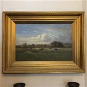 Sale 8795K - Lot 35 - Alfred Clarence oil on canvas