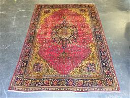 Sale 9126 - Lot 1266 - Persian hand knotted wool Tabriz (385 x 200cm)