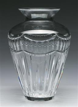 Sale 9138 - Lot 36 - A Waterford Crystal Vase (H:26cm)