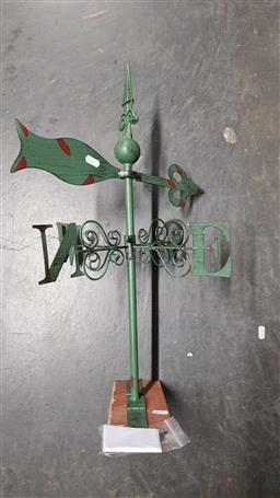 Sale 9176 - Lot 2317 - Pointed Weather Vane