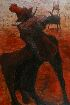 Sale 3655 - Lot 42 - Clifton Pugh (1924-1990) - Bull Riding 1963