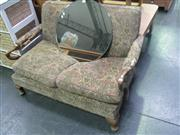 Sale 7933A - Lot 1111 - Vintage Timber Framed Two Seater Settee