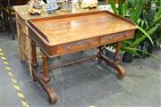 Sale 7987A - Lot 1189 - Good quality 6 Pine Table with stretcher