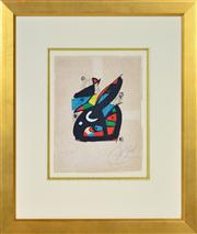 Sale 8389 - Lot 573 - Joan Miró (1893 - 1983) - La Melodie Acide, 1980 20.2 x 15.2cm