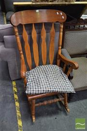 Sale 8500 - Lot 1237 - Timber Rocking Chair