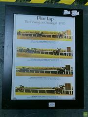 Sale 8582 - Lot 2076 - 1930s Pharlap Print