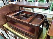 Sale 8589 - Lot 1096 - Convertible Coffee table