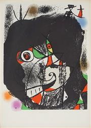 Sale 8907 - Lot 588 - Joan Miro (1893 - 1983) - Revolutions II 37.5 x 26 cm