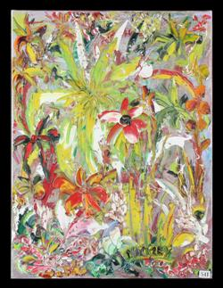 Sale 7923 - Lot 541 - EVAN MACKLEY - Rain Forest 61.0 x 45.5 cm