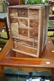 Sale 7987A - Lot 1383 - Coin Collectors Cabinet