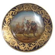 Sale 8268A - Lot 91 - ROYAL VIENNA STYLE ANTIQUE SERVES HAND PAINTED PLATE