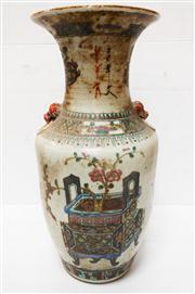 Sale 8298 - Lot 16 - Antique Chinese vase - 42 cm tall