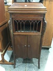 Sale 8809 - Lot 1055 - Dolceola Gramaphone in Cabinet