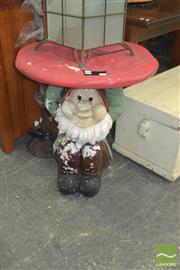 Sale 8331 - Lot 1385 - Composite Gnome Base Table