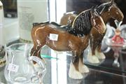 Sale 8348 - Lot 73 - Beswick Clydesdale Horse Model 818