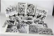 Sale 8479A - Lot 19 - Milo Slan Gold Medallist (First Mens Tennis in the comp) Closing Ceremony and other photographs.