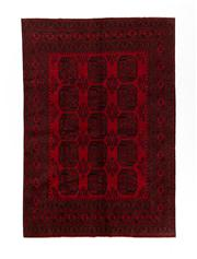 Sale 8770C - Lot 83 - An Afghan Kondoosi 100% Wool On Cotton Foundation And Natural Dyes, 283 x 198cm
