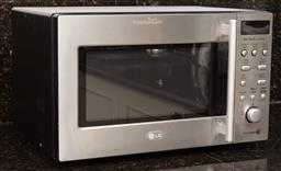 Sale 9130H - Lot 59 - An LG Microwave