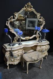 Sale 8161 - Lot 1017 - French Style Mirrored back Dresser