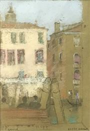 Sale 8563T - Lot 2033 - Kasey Sealy - Venice, pastel, 27 x 18.5cm, signed lower right