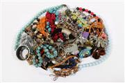 Sale 9007 - Lot 88 - A Large Collection of Costume Jewellery inc Mostly Large Beaded Necklaces