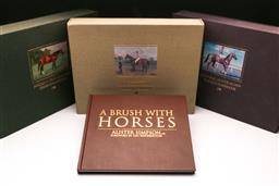 Sale 9119 - Lot 191 - A set of three notable thoroughbred books inc Australian, New Zealand English and Irish together with Alistair Simpson A brush with...