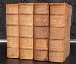 Sale 9130H - Lot 43 - Four volumes of leather bound Historians History of the World including Vols XI, XV, XVI, XXII, height 27cm