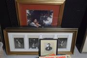 Sale 8346 - Lot 2084 - Collection of engravings of C19th Historical Figures, various sizes and framed