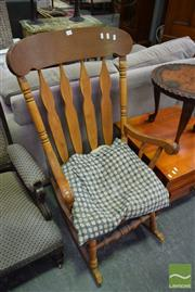 Sale 8500 - Lot 1239 - Timber Rocking Chair