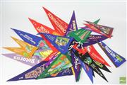 Sale 8521 - Lot 97 - Felt Pennant Collection