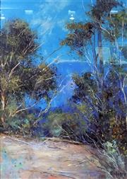 Sale 8563T - Lot 2053 - Alex Andrews - Springwood Landscape oil on canvas board, 35 x 25cm, signed lower right
