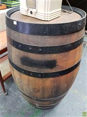 Sale 8566 - Lot 1101 - Large Vintage Barrel (104 x 60)