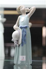 Sale 7989 - Lot 3 - Lladro Figure of a Child with a Flower & Hat