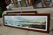 Sale 8054 - Lot 1098 - Pair of Framed Photo Prints