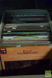 Sale 8497 - Lot 2342 - Box of Vinyl Records incl Dame Joan & Maria Callas