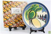 Sale 8599 - Lot 21 - Bizarre by Clarice Cliff For Wedgwood May Avenue Plaque (Dia: 31cm)