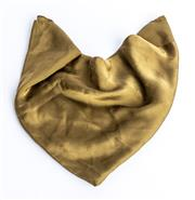 Sale 9003F - Lot 54 - An Olive green Louis Vuitton silk scarf